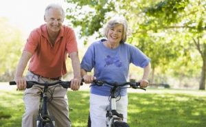 3177596 - senior couple on bicycles